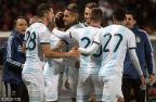 [高清組圖]熱身賽-科雷亞絕殺 阿根廷1-0摩洛哥