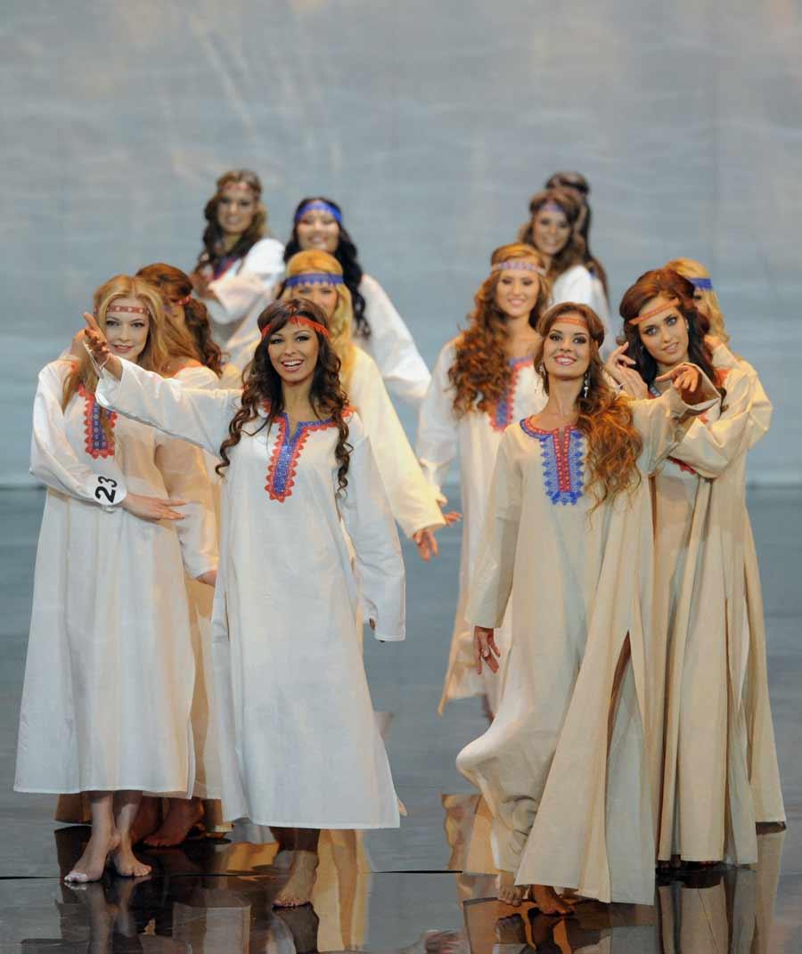 За право быть самой красивой россиянкой боролись 63 девушки.