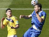 [世界杯]C组:哥伦比亚VS希腊 上半场