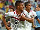 [世界杯]博拉诺斯任意球后点 杜阿特头球破门