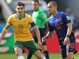 [世界杯]B组:澳大利亚2-3荷兰 比赛集锦
