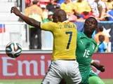 """[世界杯]哥伦比亚击败""""非洲大象"""" 提前出线"""