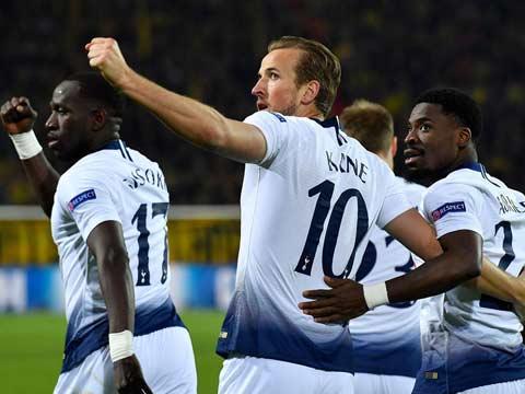 [歐冠]1/8決賽次回合:多特蒙德0-1熱刺 比賽集錦