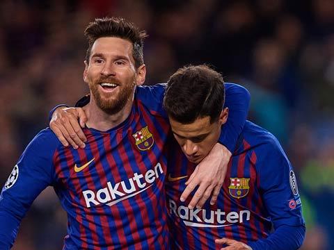 [歐冠]1/8決賽次回合:巴塞羅那VS里昂 上半場