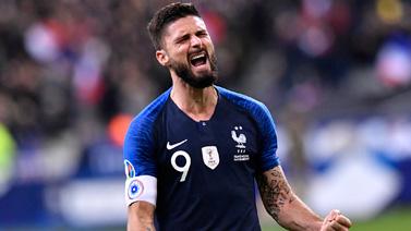 [圖]歐預賽-吉魯制勝球 法國2-1逆轉升頭名