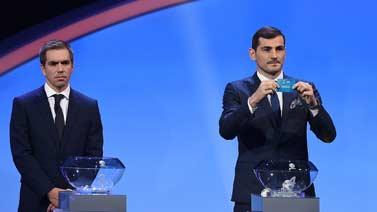 [圖]歐洲杯分組德國葡萄牙法國相遇 意西有麻煩