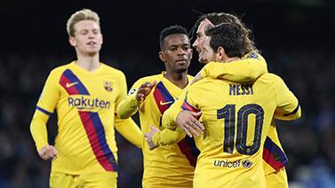 [歐冠]1/8決賽:那不勒斯1-1巴塞羅那 比賽集錦