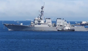 《今日关注》 20210228 台海黄海东海南海 美军舰机频繁抵近意欲何为?