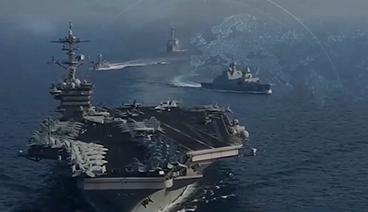 《今日关注》 20210405 航母再闯南海 驱逐舰现身东海 美军再次挑衅!