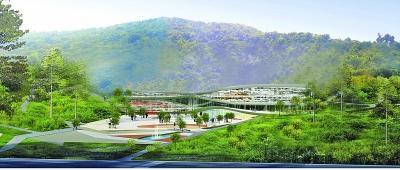 南京直立猿人大遗址博物馆设计外景