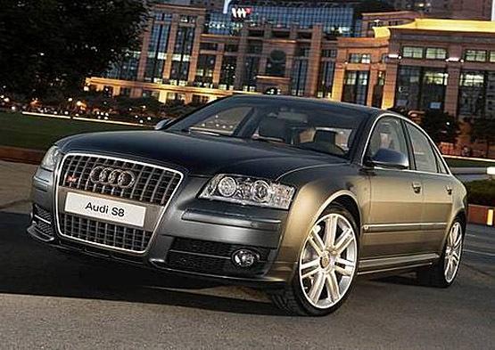 0l手动 8    直至2002年9月,第一代奥迪s8车型停产,2006年6月,第二代