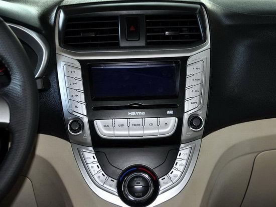 配备ESP/广州车展上市 海马V30实车曝光