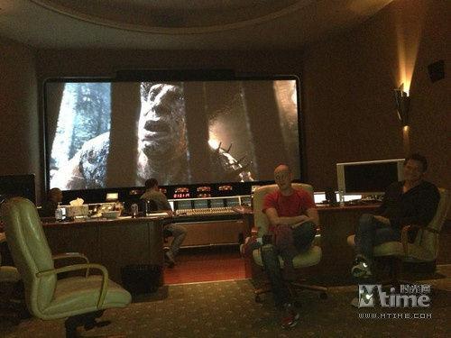 剪辑室中的《巨人杀手杰克》。