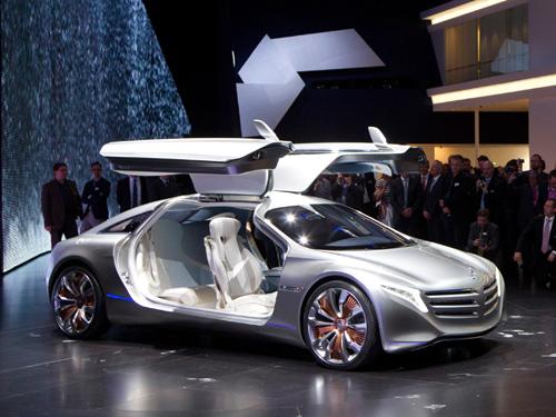 奔驰F125氢动力概念车