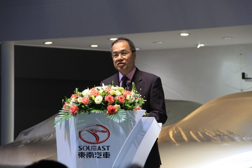 东南(福建)汽车工业有限公司 左自生总经理