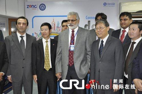 中移动巴基斯坦公司第一个GSM实验室建立(图)