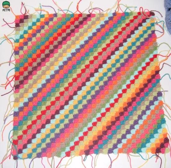 方形毛线坐垫的钩法_方形坐垫的钩法 毛线坐垫的钩法 圆形坐垫的钩法视频 长方形 ...
