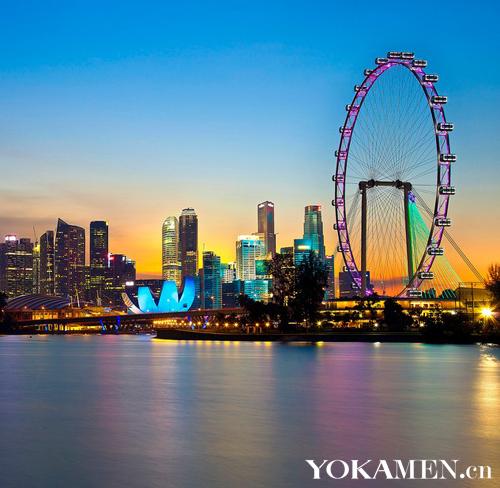 新加坡滨海湾景观