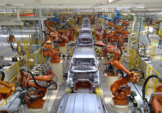 В КНР растет спрос на промышленных роботов