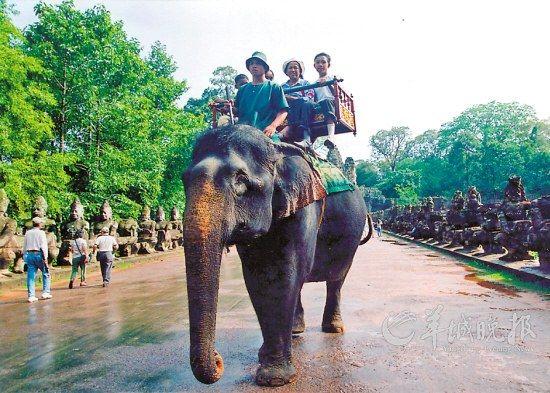拥有神秘古城文化的柬埔寨等小众路线在今年也受到欢迎
