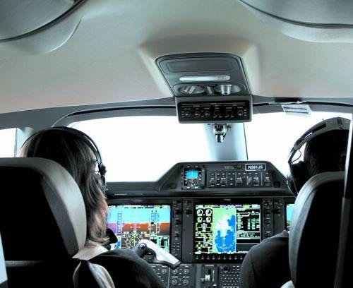 驾驶私人飞机