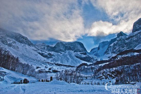 冬日长白山