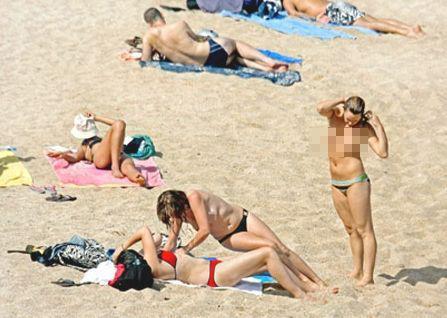 亲近自然赤裸以对 探秘全裸成风的海滩