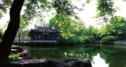 中国人对园林的喜爱更多是根源于一种隐逸遁世的情怀。