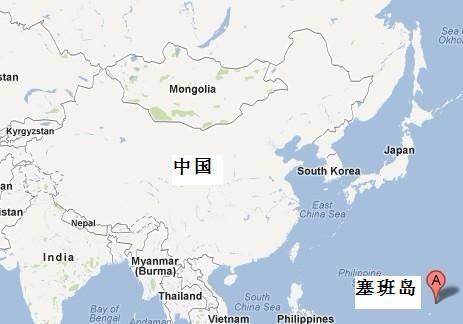 塞班地理位置
