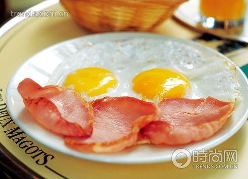 晨间美味 巴黎早餐地图