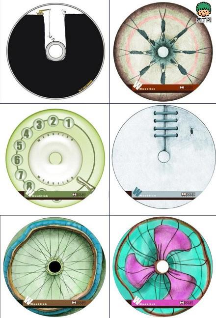 手绘光盘封面设计