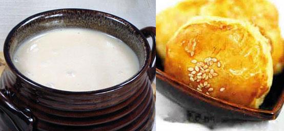 醴酪与环饼