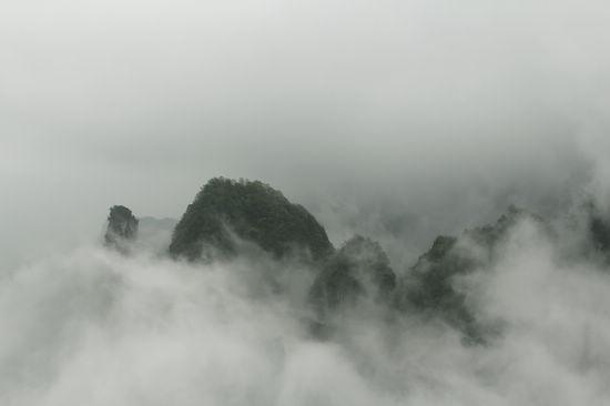 天门山云雾奇观
