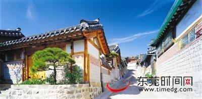韩国传统房屋