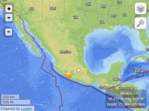 美国地质勘探局网站