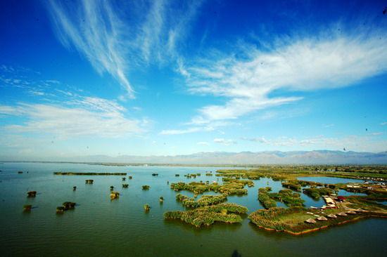 邂逅沙湖贺兰山下的塞上江南