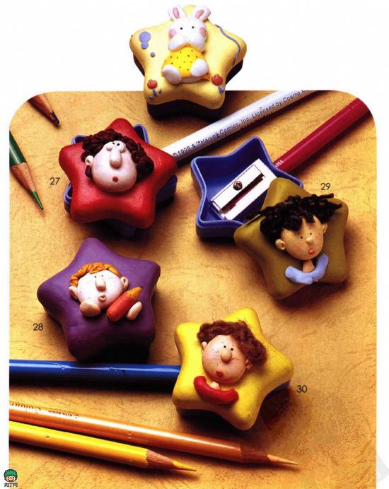 可爱超轻粘土娃娃玩偶手工制作
