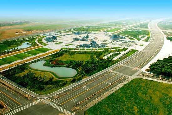 上海庙能源化工基地鸟瞰图