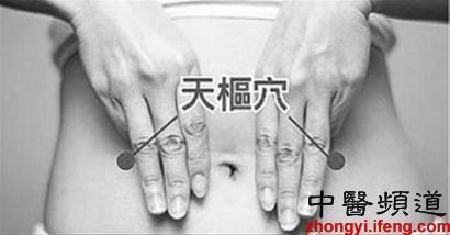 腹泻头痛腰腹痛 按摩4个部位立竿见影(图)
