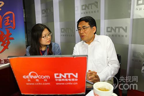 中国艺术研究院中国油画院院长杨飞云与网友进行在线交流