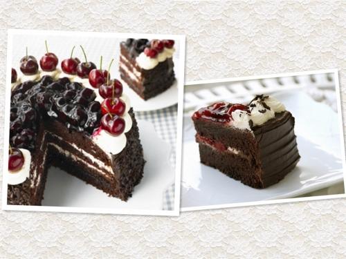 经典美味萦绕舌尖 德国甜点黑森林蛋糕