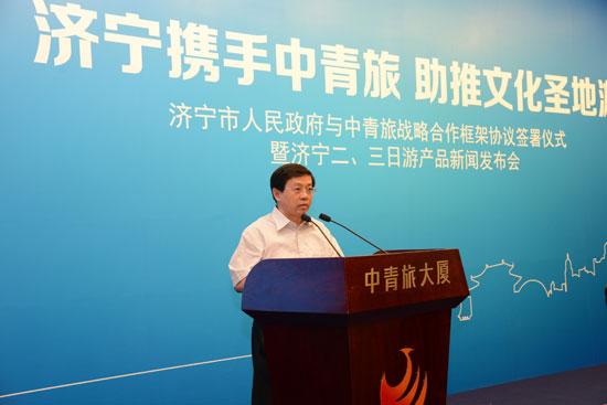 济宁市委副书记、市长梅永红