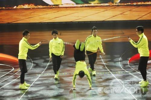 香港花式跳绳队图片