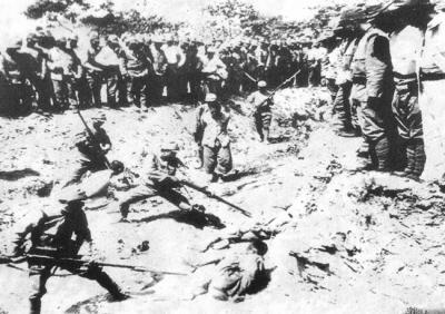 日寇与纳粹的暴行比较