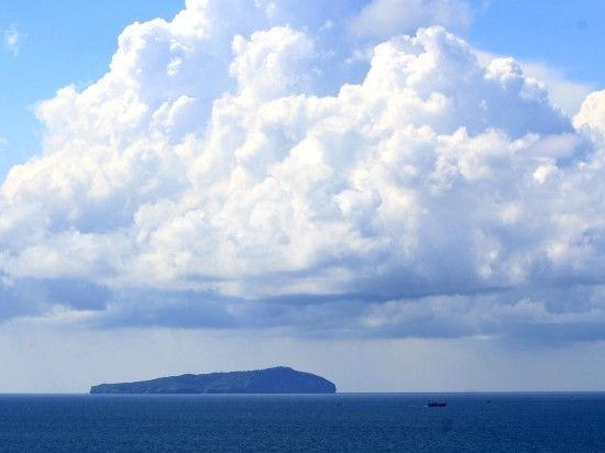 广阔无边的蔚蓝大海
