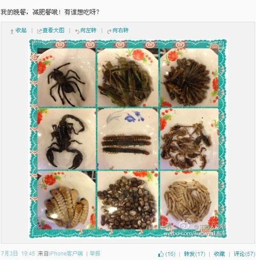 刘刚的重口味自虐减肥法:吃蛆虫埋针线加放血(图文)
