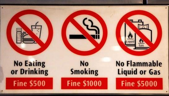 到新加坡可别嚼口香糖!