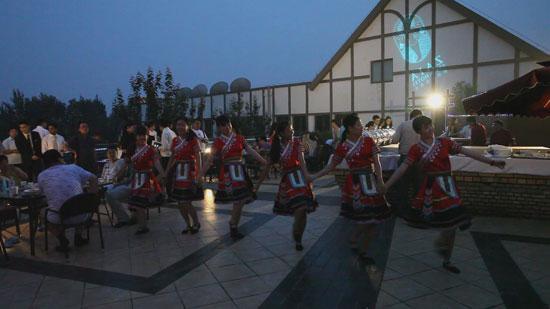 台湾风情舞蹈表演