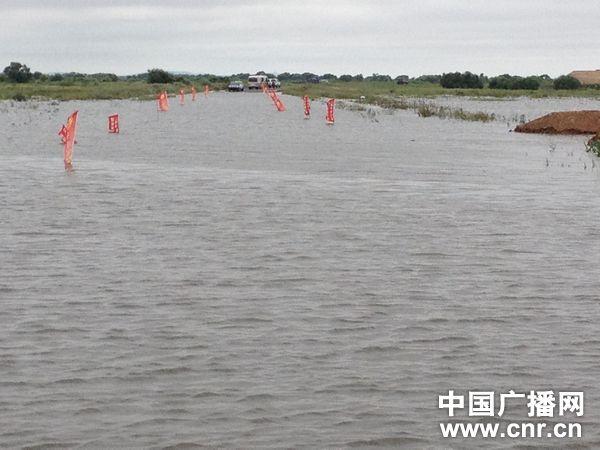 黑龙江黑瞎子岛遭遇史上最严重洪灾 过水面积超9成