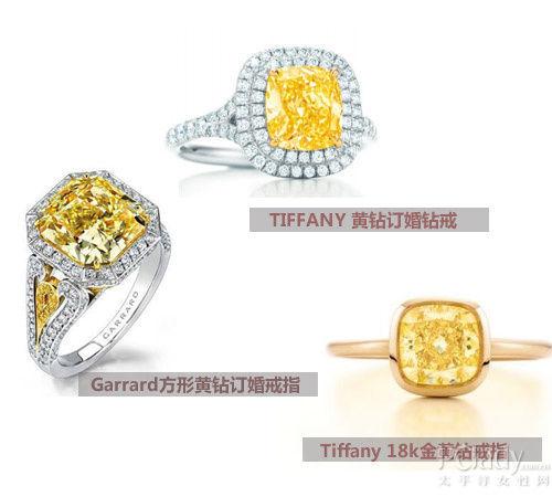 黄钻戒指技巧 寻觅最合手的钻石